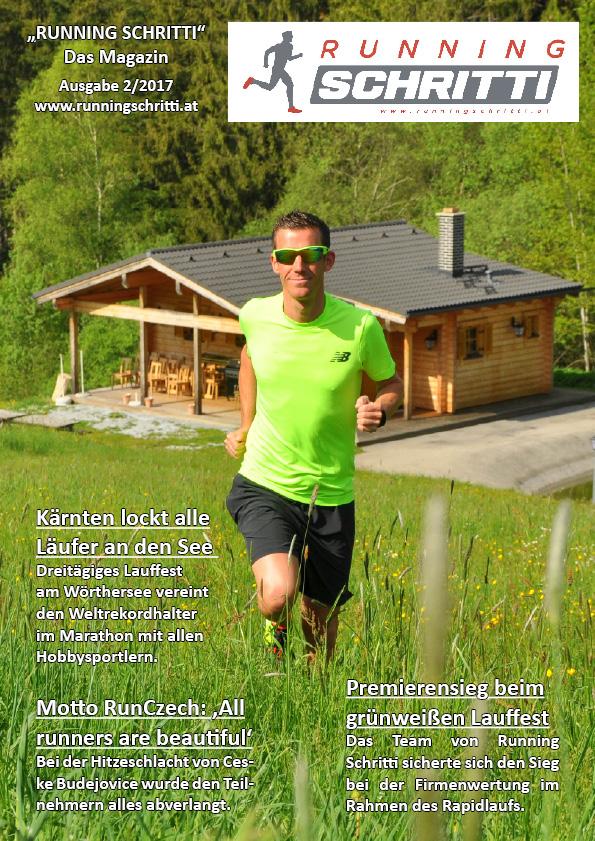 Neue Ausgabe des Running Schritti Magazins