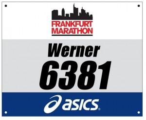 Startnummer-Frankfurt-Marathon