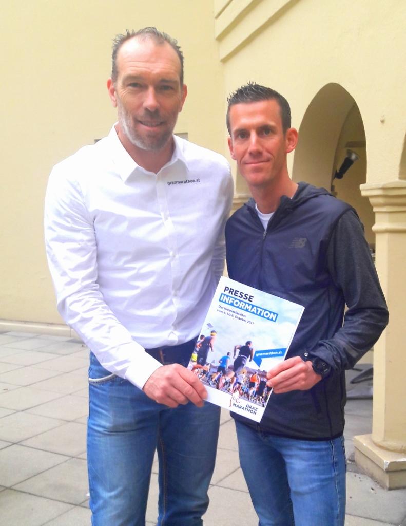 Graz Marathon auf neuen Beinen