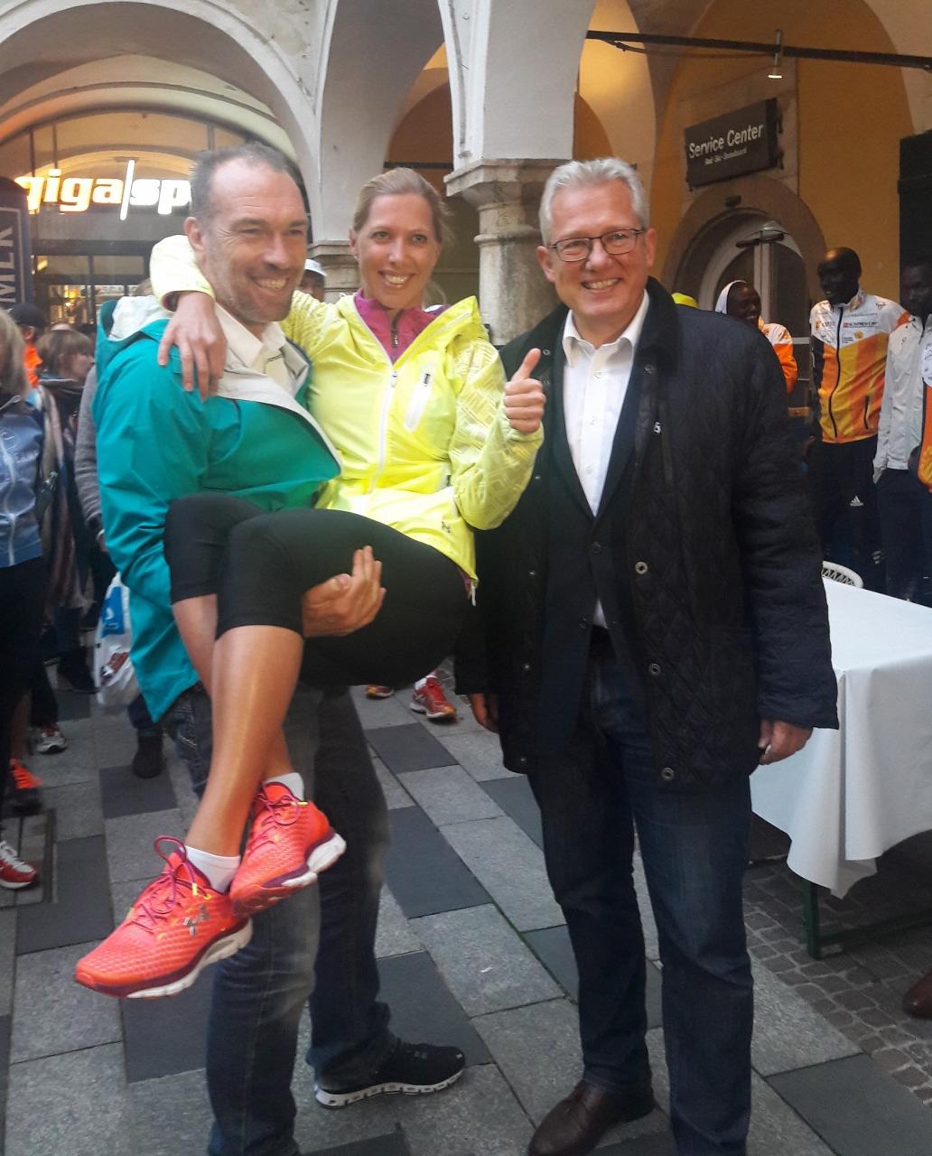 Startschuss für den Graz Marathon Neu