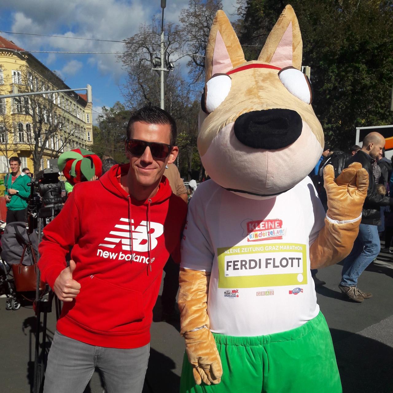 Viele strahlende Gesichter beim Graz Marathon 2017