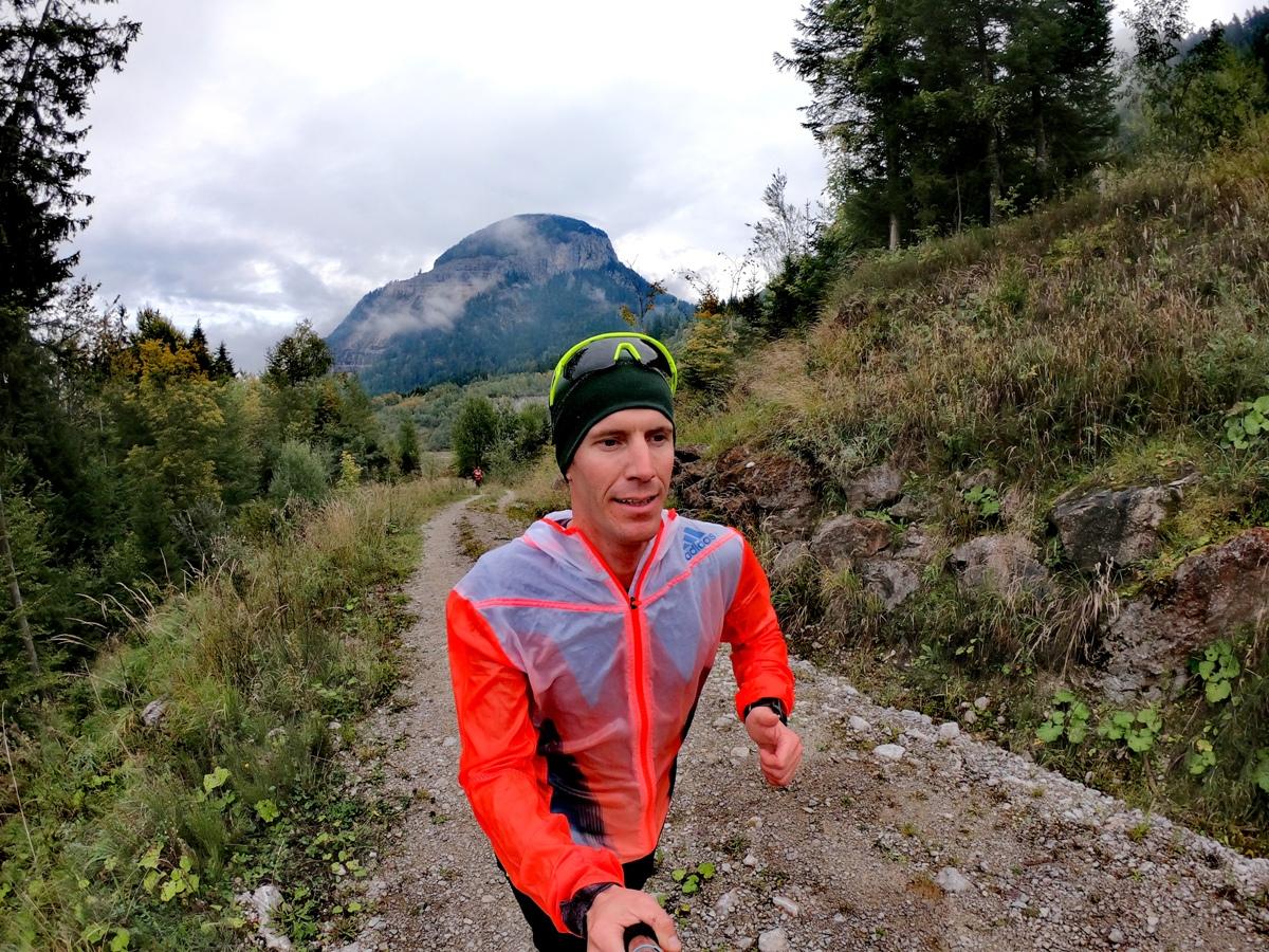 Lauferlebnis in den Tiroler Bergen